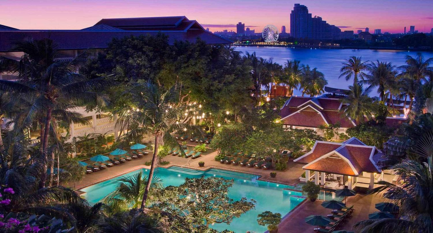 The Anantara Riverside Bangkok, a MINT hotel. Some 29 of the company's hotels in Thailand are expected to open during the third quarter.