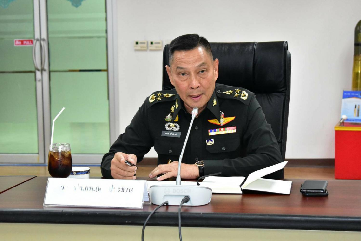 Gen Naphon says the government wants to position Thailand as a global arms dealer and reduce the nation's reliance on foreign weaponry.