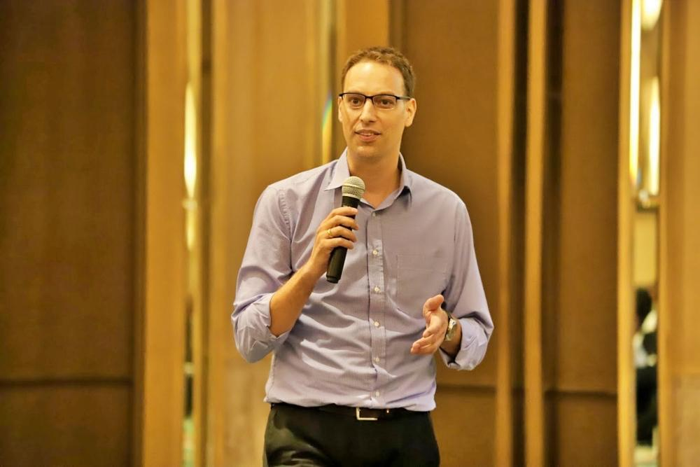 Matthias Bickel, Programme director and cluster coordinator for agriculture and food, GIZ-Thailand SUPPLIED