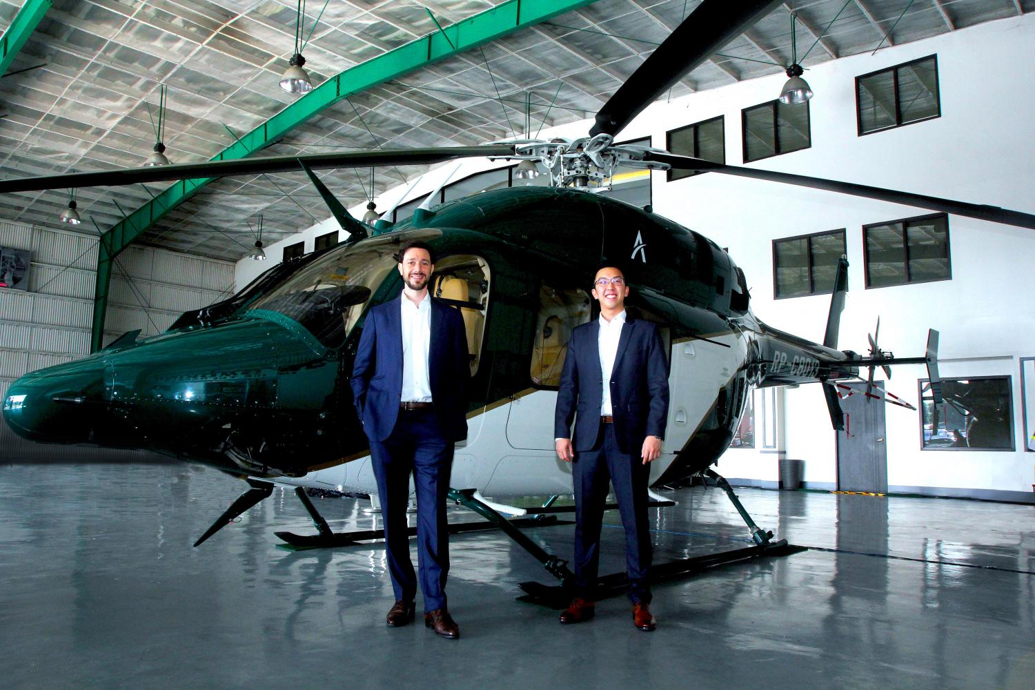 Ascent Asia co-founders Lionel Sinai-Sinelnikoff and Darren T'ng.