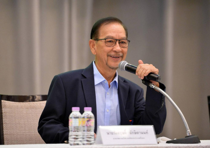 Rangsrid vows to raise Thai golf to world level