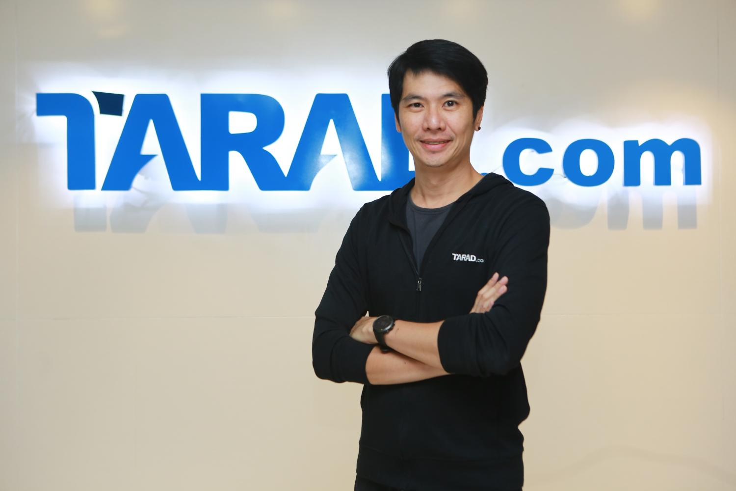 Mr Pawoot, the founder of Tarad.com, in the company's offices at CW Tower.