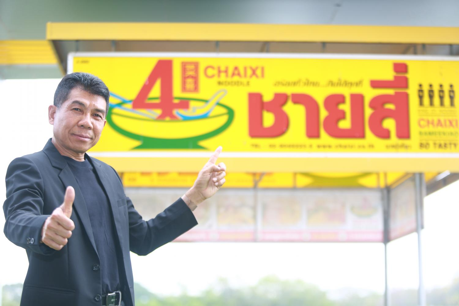Mr Panrob plans to expand Chaixi Bameekiao into the Middle East, starting in Bahrain.
