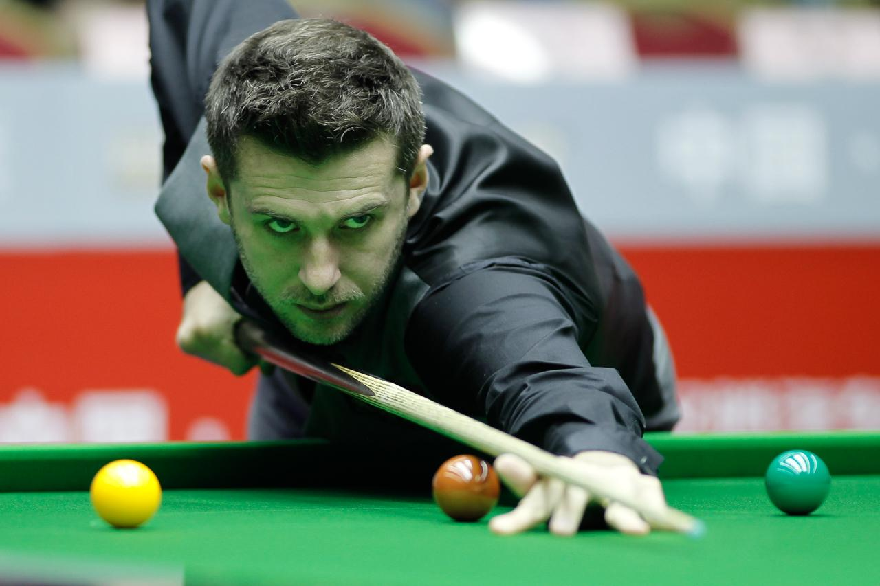 Great escape: Three-time world champion Mark Selby of England.