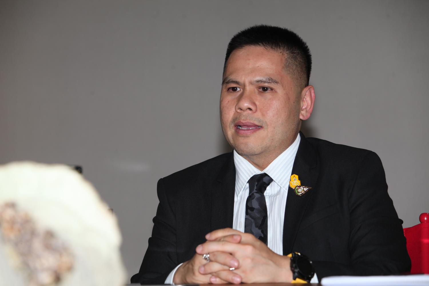 Minister of Natural Resources and Environment Varawut Silpa-archa