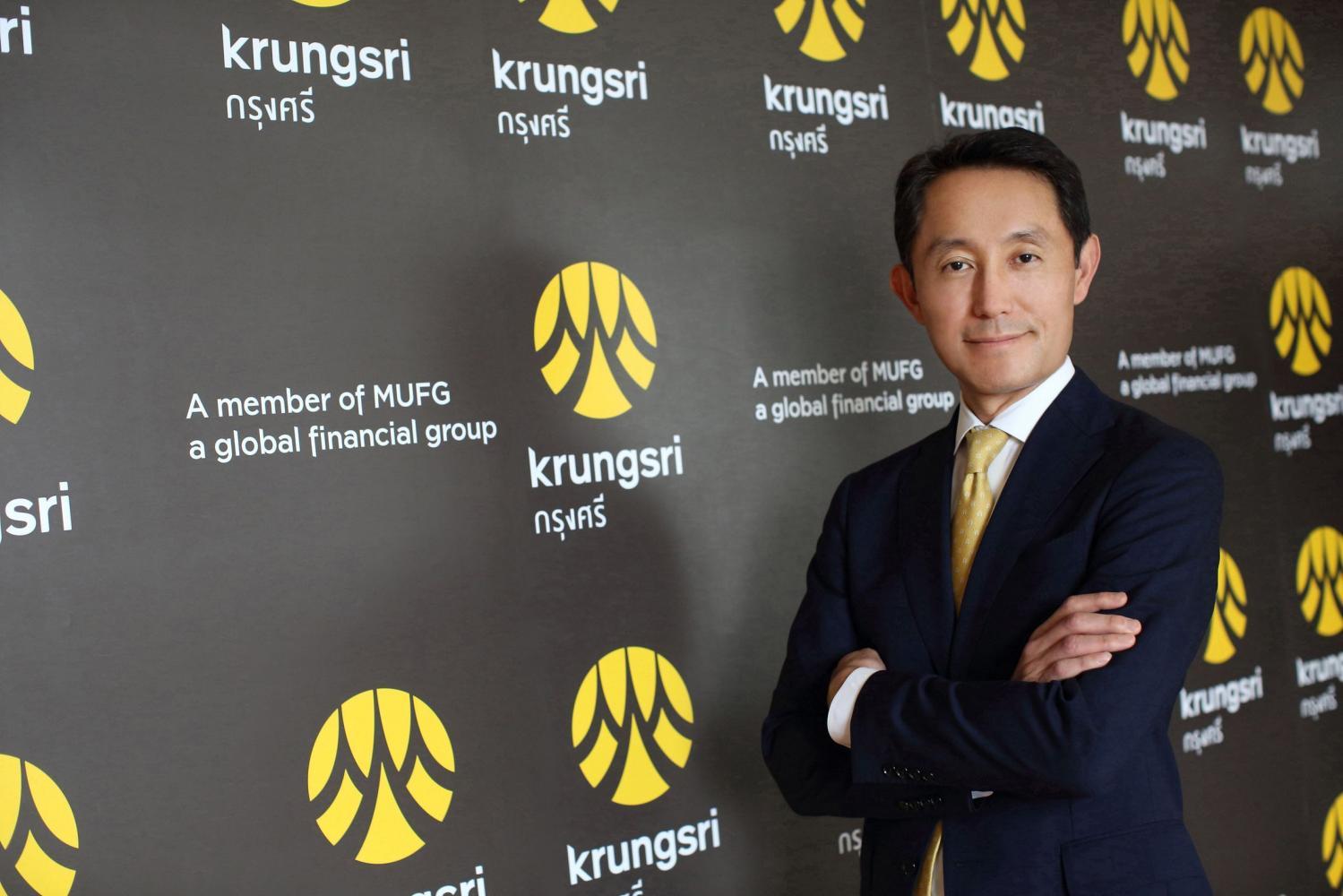 Krungsri president and chief executive officer, Mr. Seiichiro Akita. *No photo credit*
