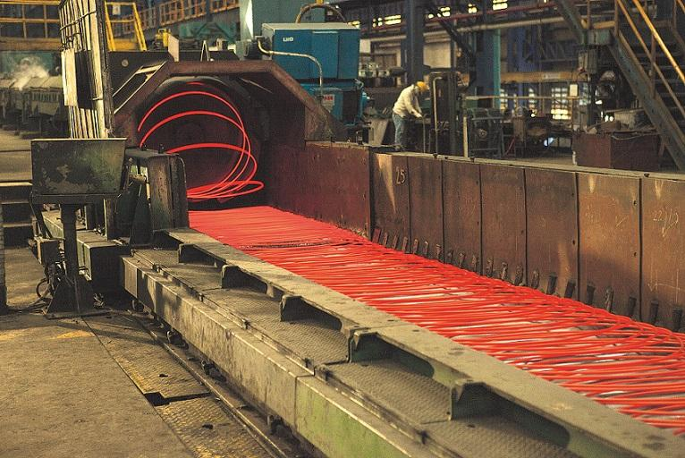 Steel and iron manufacturing decreased by 12.9% year-on-year to 4 million tonnes during the January-July period this year.