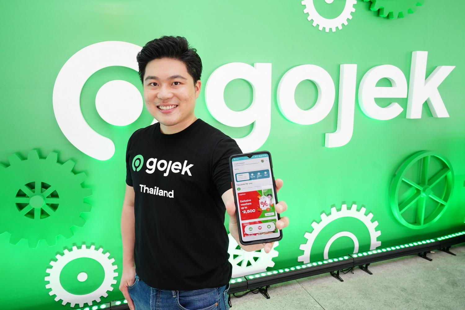 Mr Pinya says the Gojek app has a new and improved look and feel, as well as multiple feature upgrades.