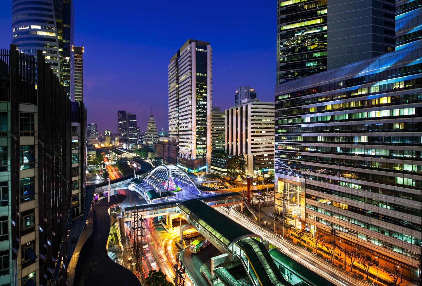 The UK aims to export smart city technology to Thailand.