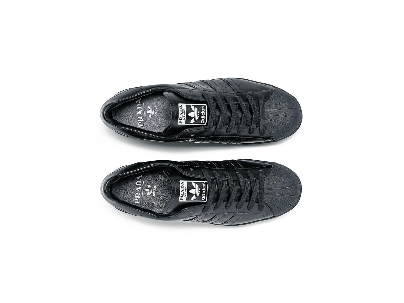 invadir Falsedad Exponer  Prada x Adidas is a Superstar alliance