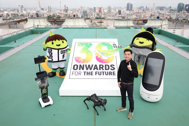 Mr Somchai promotes AIS 5G to celebrate the company's 30th anniversary.