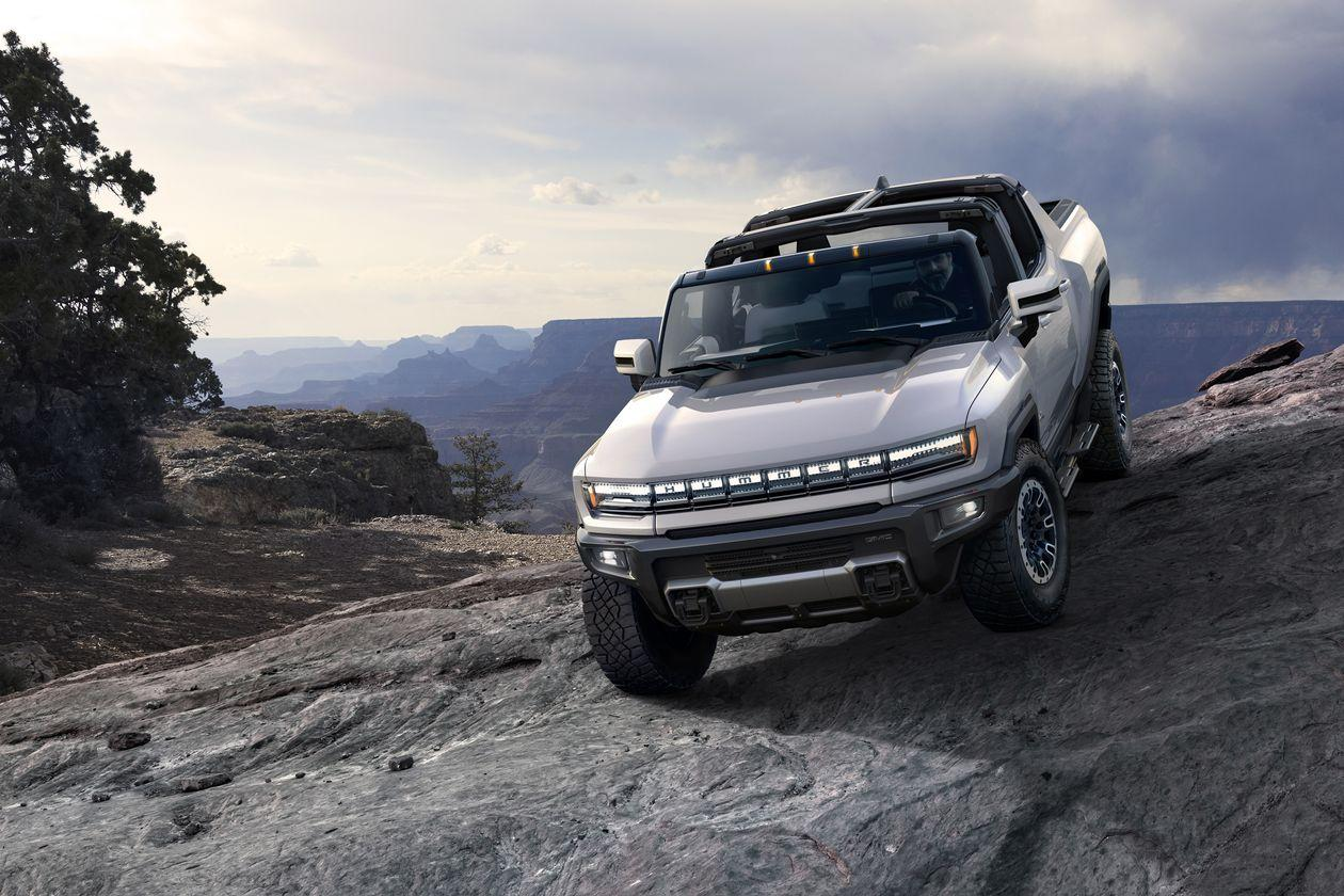 GMC's All-Electric Hummer Pickup Highlights GM's New EV Strategy
