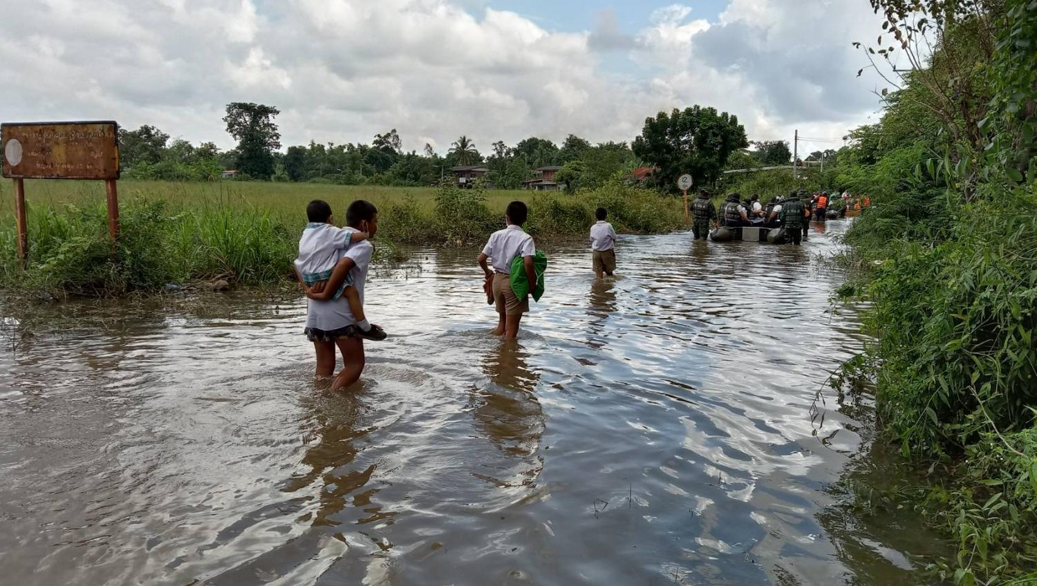 Korat hit as floods ravage 4 provinces