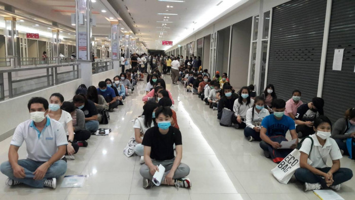 Thai workers learn Korean to migrate