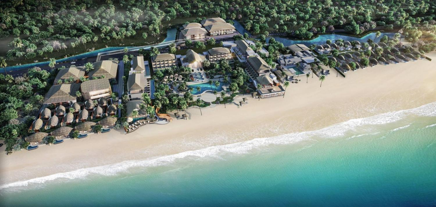 A digital rendition of Natai Medical Center & Resort, a wellness hospital and resort being developed on 69 rai on Na Tai Beach in Phangnga.
