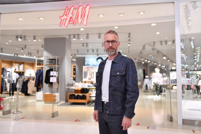 Mr Lassaux says H&M has had a large impact on climate change.