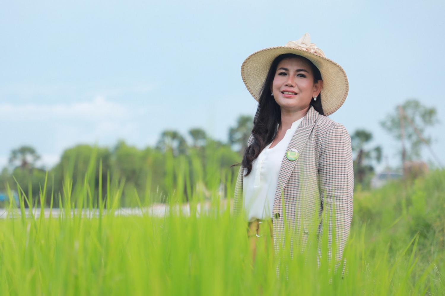 Ms Kornchawan sees a future for agro-tourism in Roi Et.