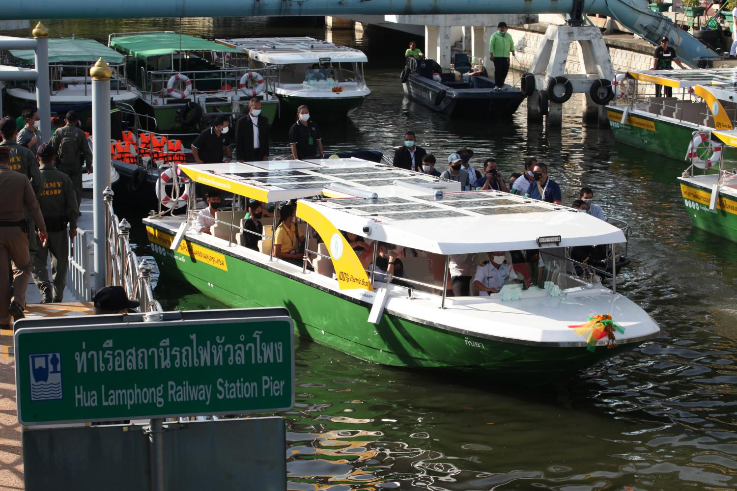 PM launches electric canal boat service