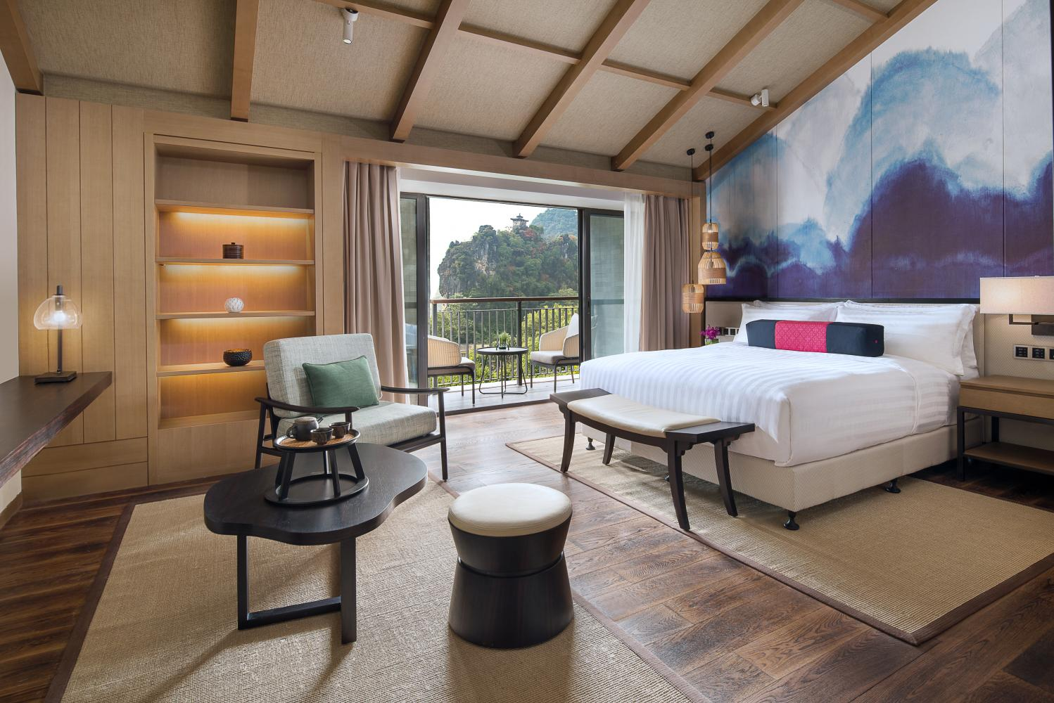 The Amari Yangshuo in China. Occupancy rates were highest during the Golden Week holiday.