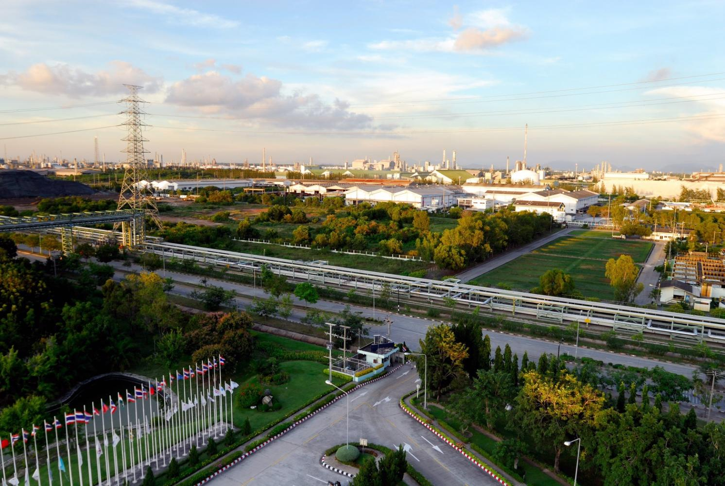 Map Ta Phut Industrial Estate in Rayong was categorised by experts as having 'eco-world class' status.