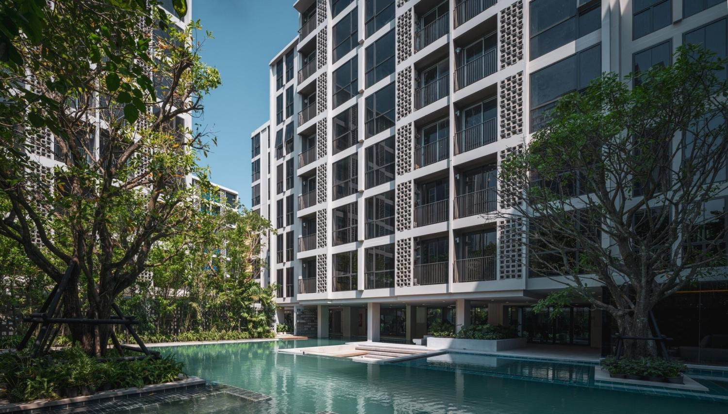 A condominium near On Nut station in Bangkok. Permanent residency for foreign buyers is among the property stimulus measures proposed by developers.