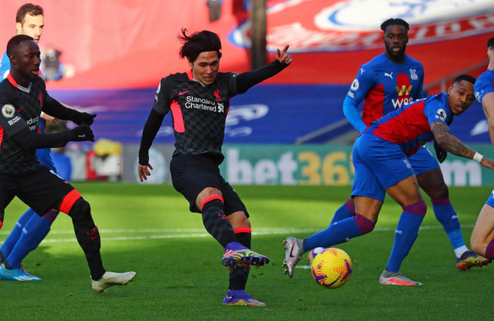 Stunning Liverpool fire seven past Crystal Palace