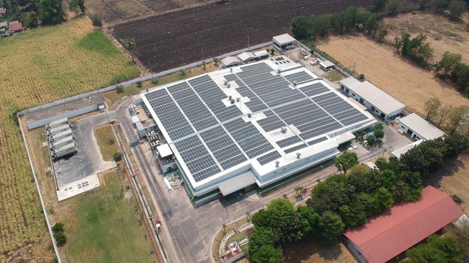 Cleantech Solar Cargill's Lopburi facility. Cargill's move to adopt solar energy in Thailand is in line with its global commitment to reduce Scope 1 and 2 greenhouse emissions by 10% by 2025.
