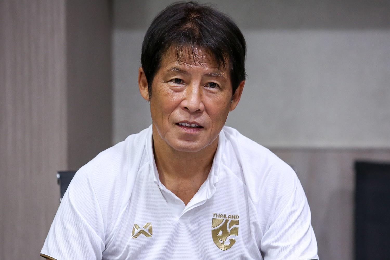 Thailand coach Akira Nishino.