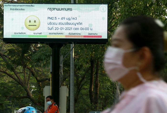 Cool spell to worsen Bangkok haze