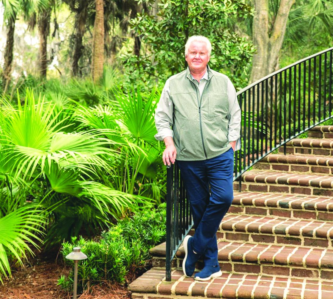 Jeff Immelt is photographed near his home in Kiawah Island, S.C. on Feb 11.Katie Charlotte for The Wall Street Journal