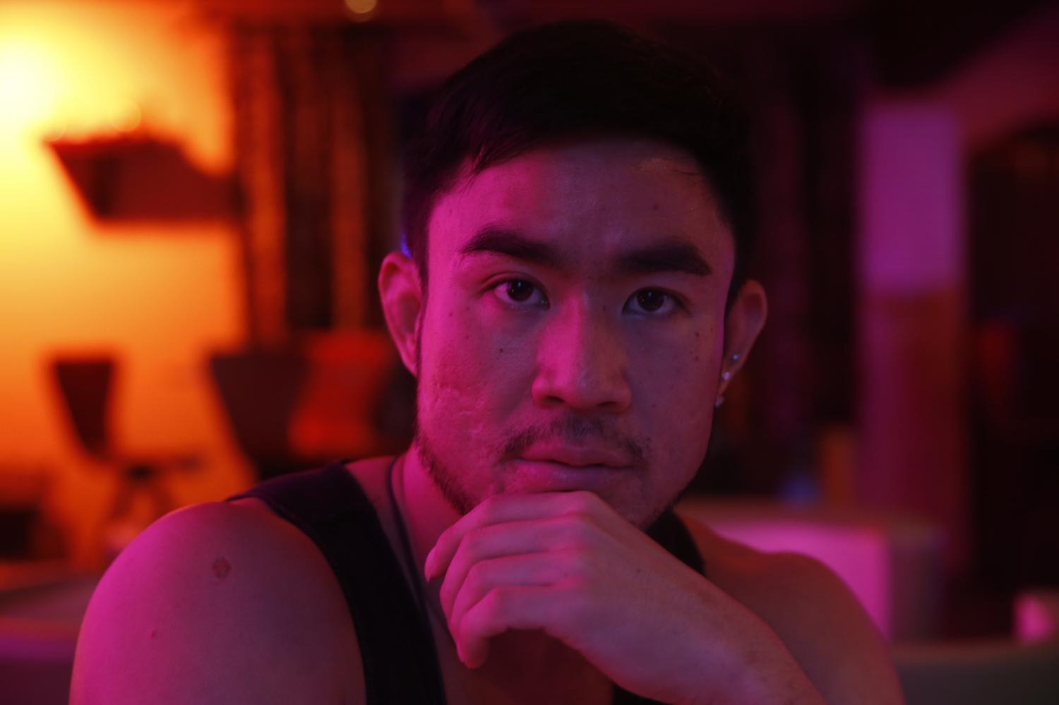 Pawan Leewajanakun, 33, a male prostitute and sex-worker rights activist, boosted his income by taking in private customers via an online platform, rather than relying solely on the bar in Patpong.