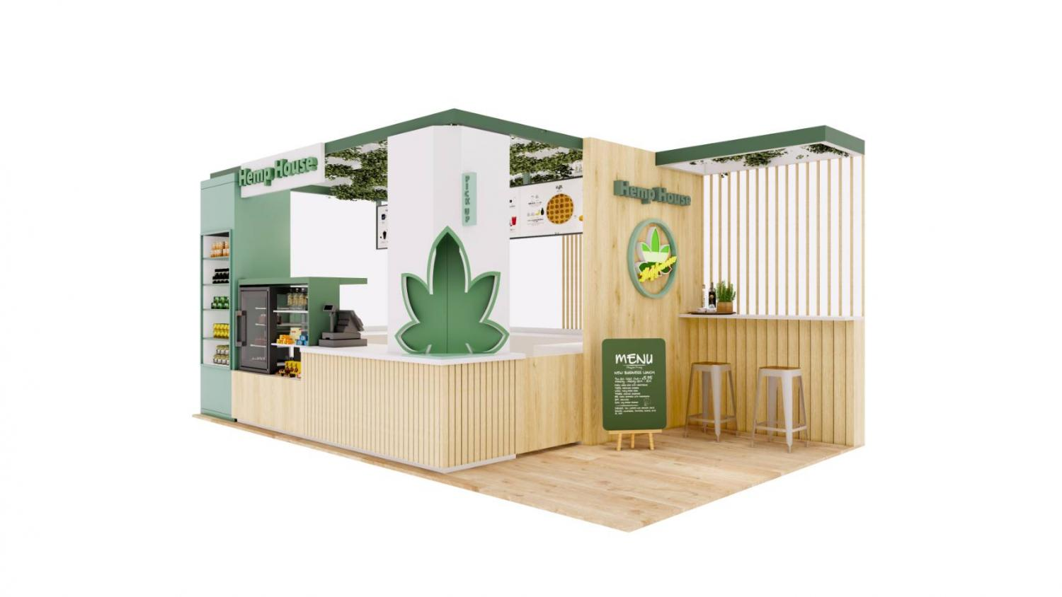 Hemp House outlets will feature hemp-based food and products. Operator, NR Instant Produce, is aiming to form a cafe-style hub under a franchise business model.