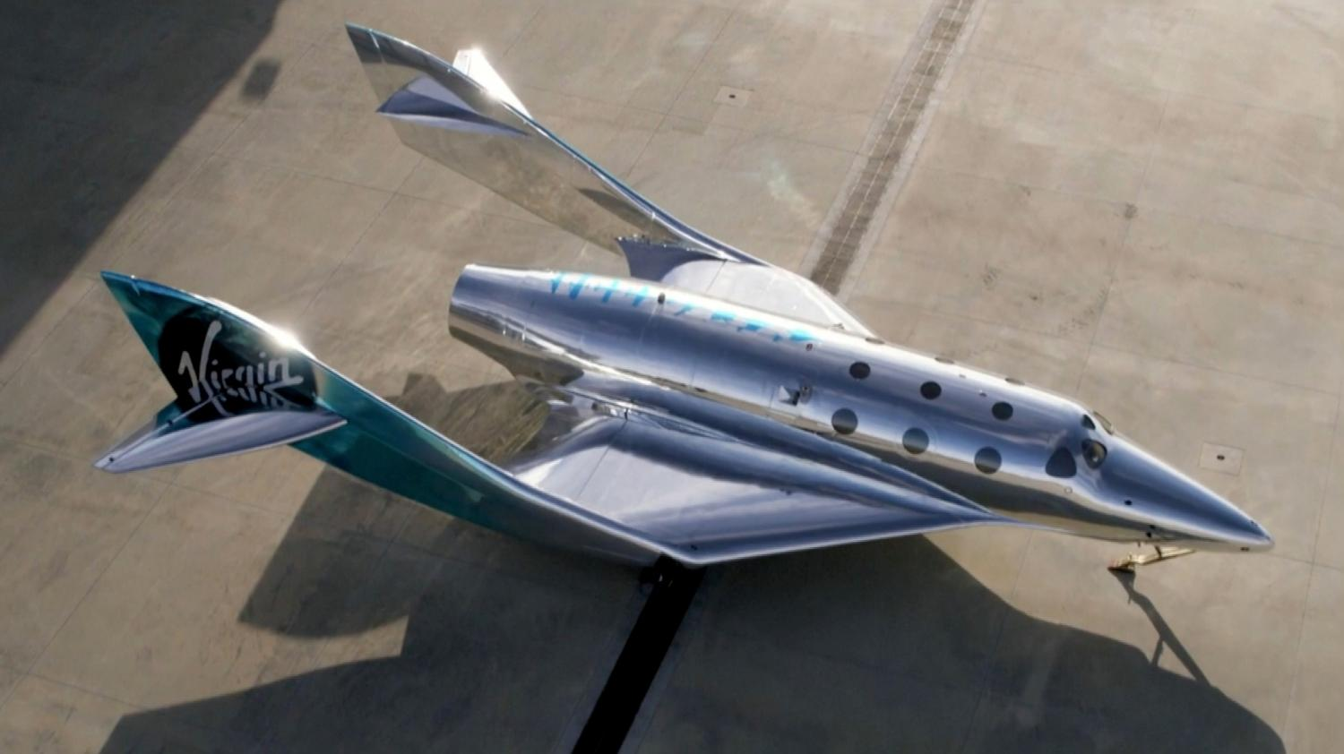 Virgin Galactic's plan of action