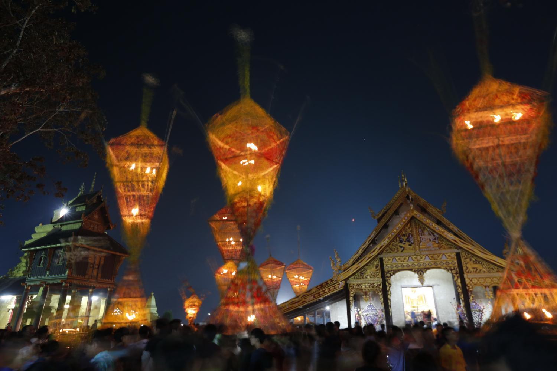 Loei marks Ton Dokmai Festival