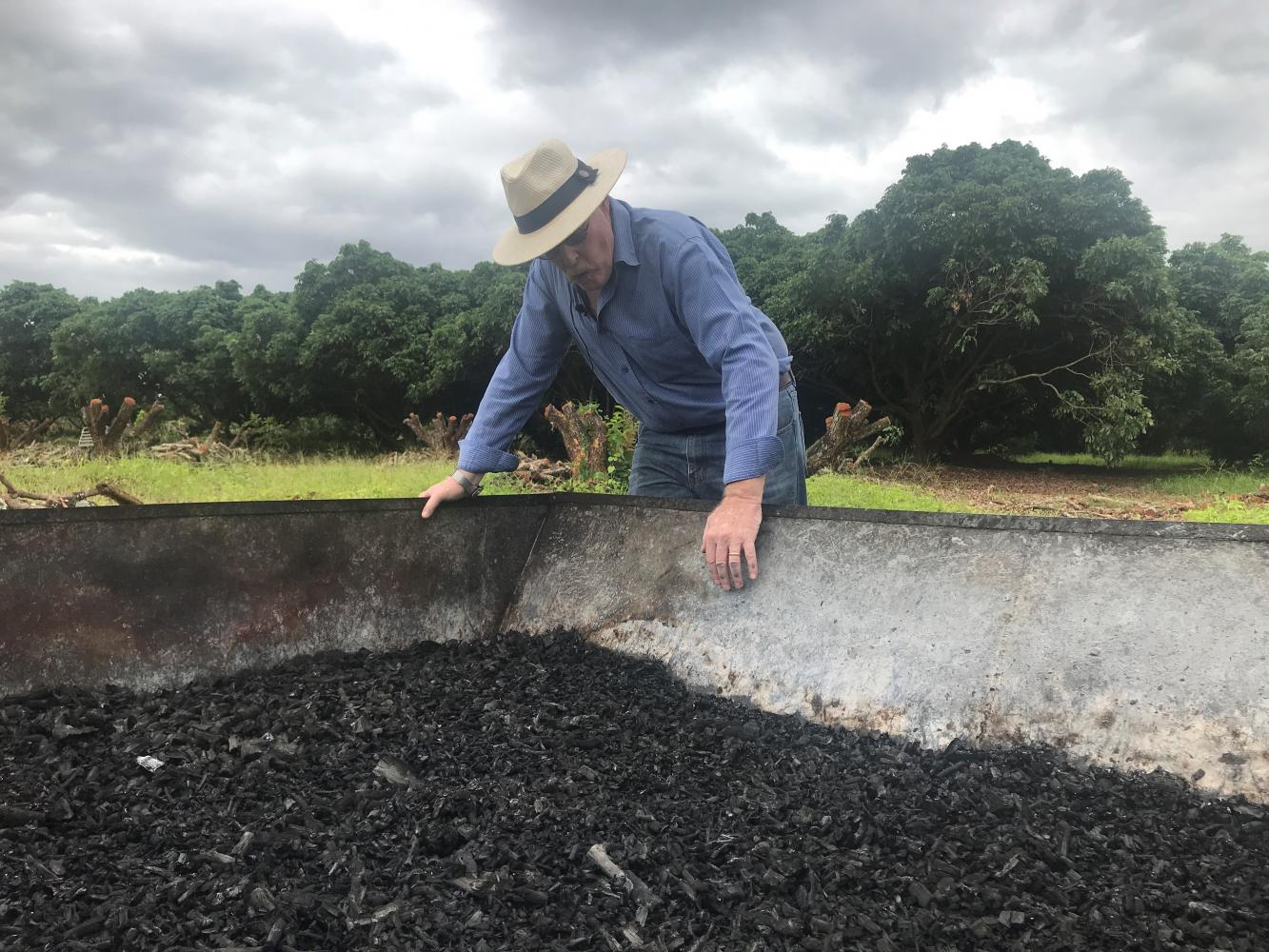 Biochar could drive away the smoke