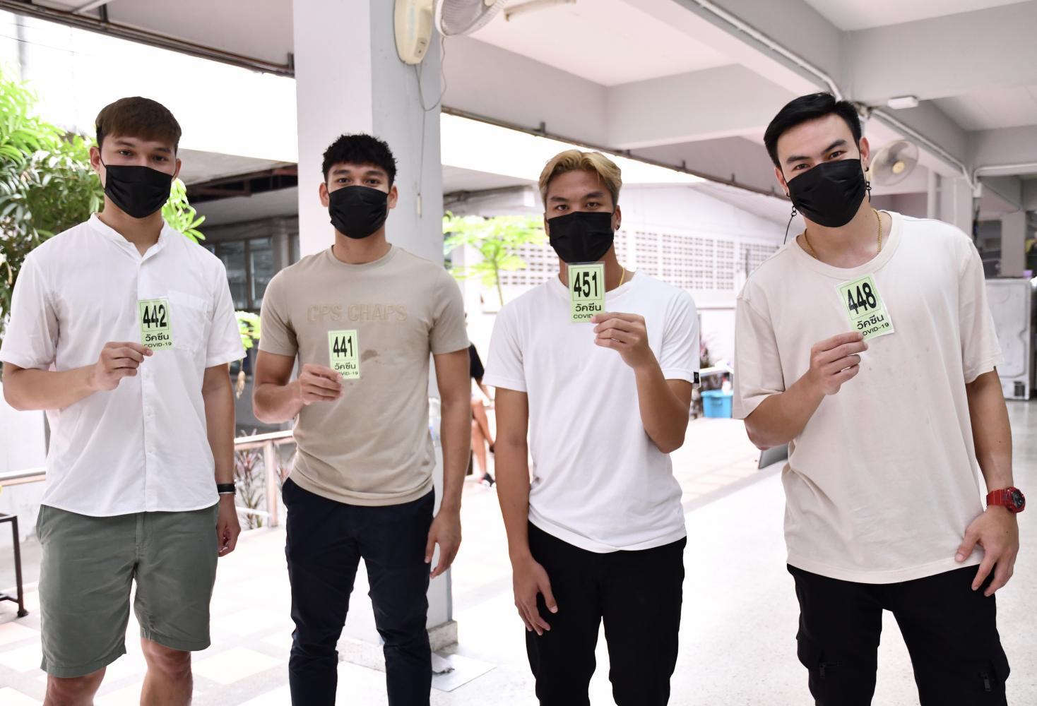 Inoculation of Thai players for UAE trip gets underway