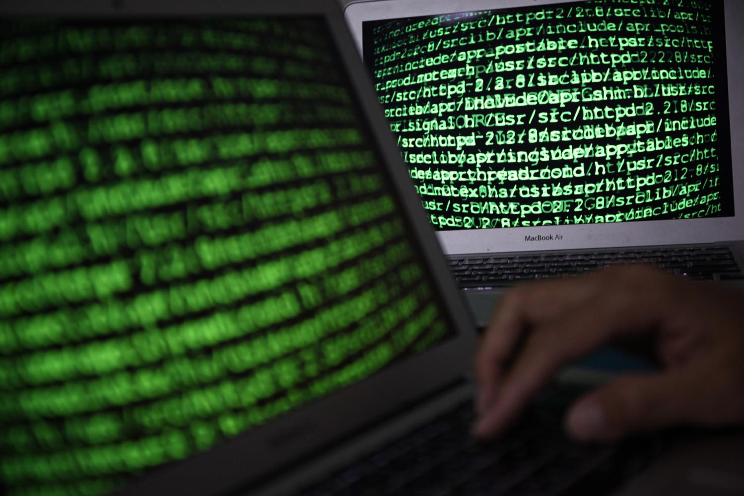 The rise of cyberthreats has alarm bells ringing for corporations and individuals seeking protection. (Photo by Wichan Charoenkiatpakul)
