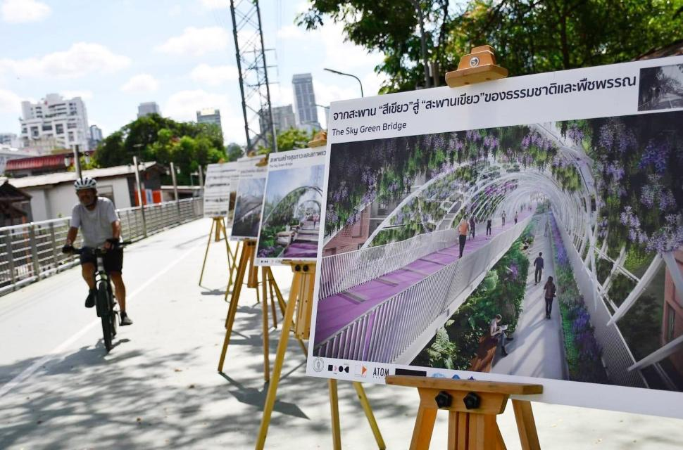 BMA to spend B260mn to renovate Green Bridge