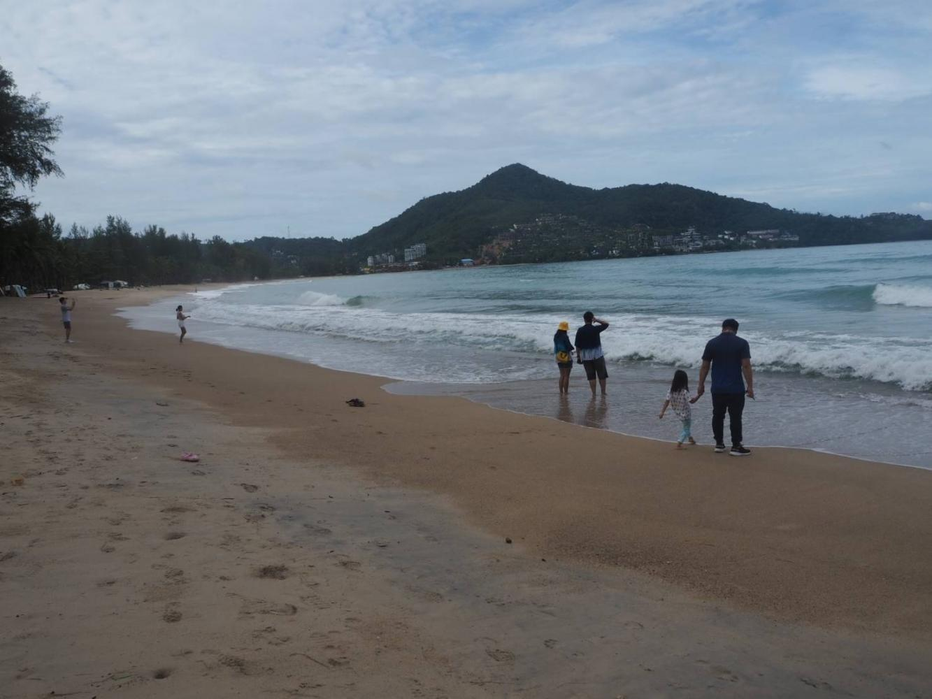 Local tourists at Kamala Beach, Phuket. So far, five airlines have unveiled direct flights to Phuket, including Thai Airways, Emirates, Singapore Airlines, El Al Israel Airlines and Qatar Airways. Dusida Worrachaddejchai