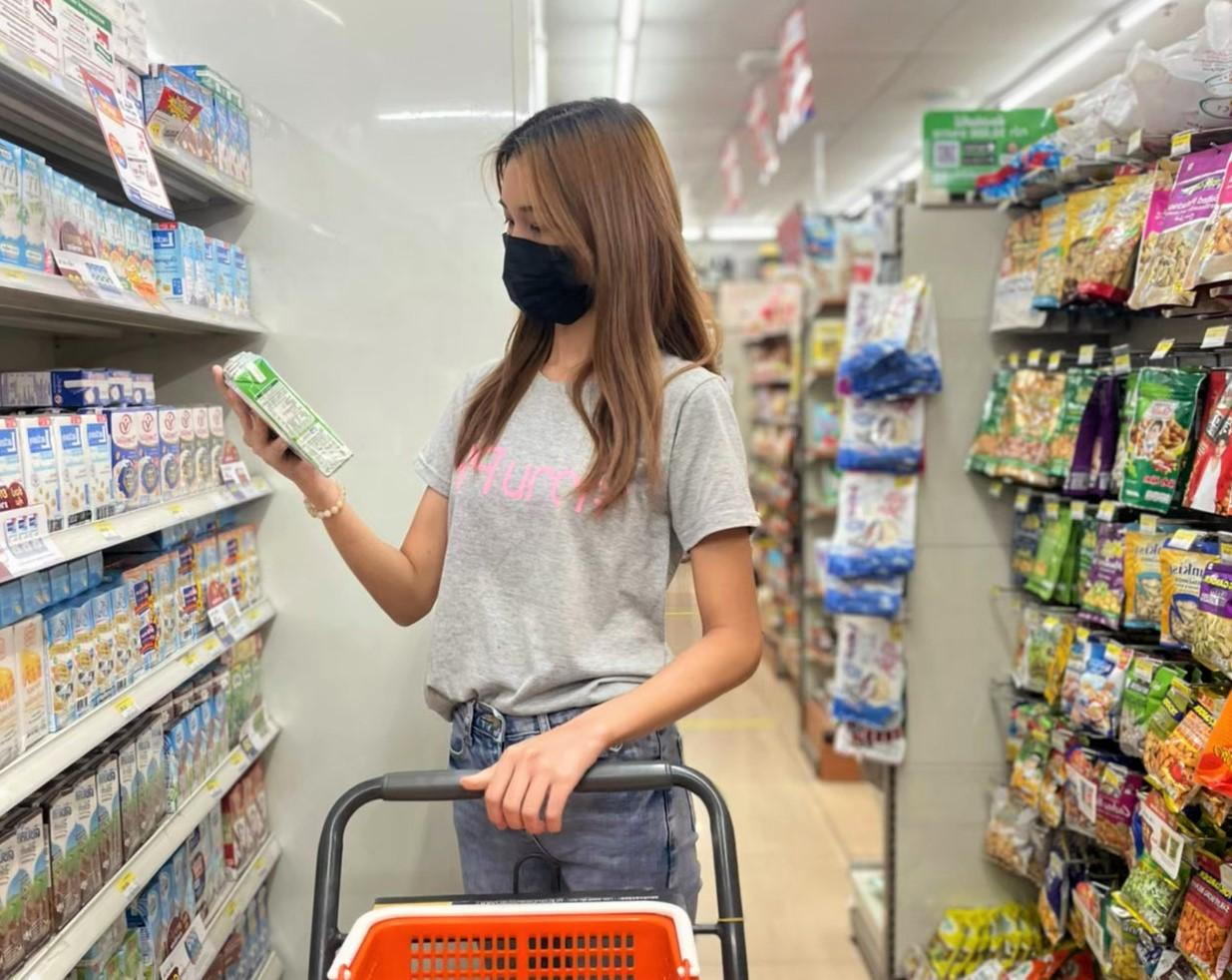 Thai consumers are worried about uncertain economic situations caused by the third wave of the pandemic.