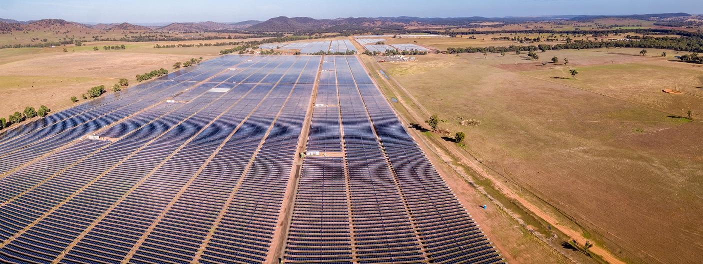The 110.9MW Beryl Solar Farm in Australia is a newly acquired asset of Banpu Plc.