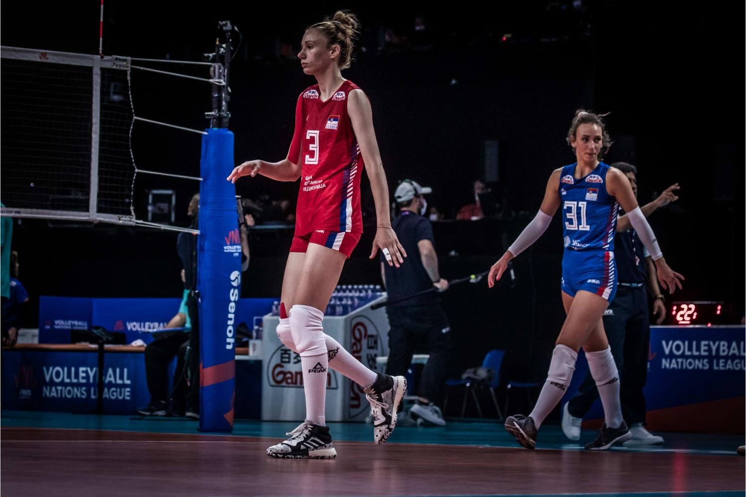 Serbia's Sanja Djurdjevic during the match against Thailand.(FIVB photo)