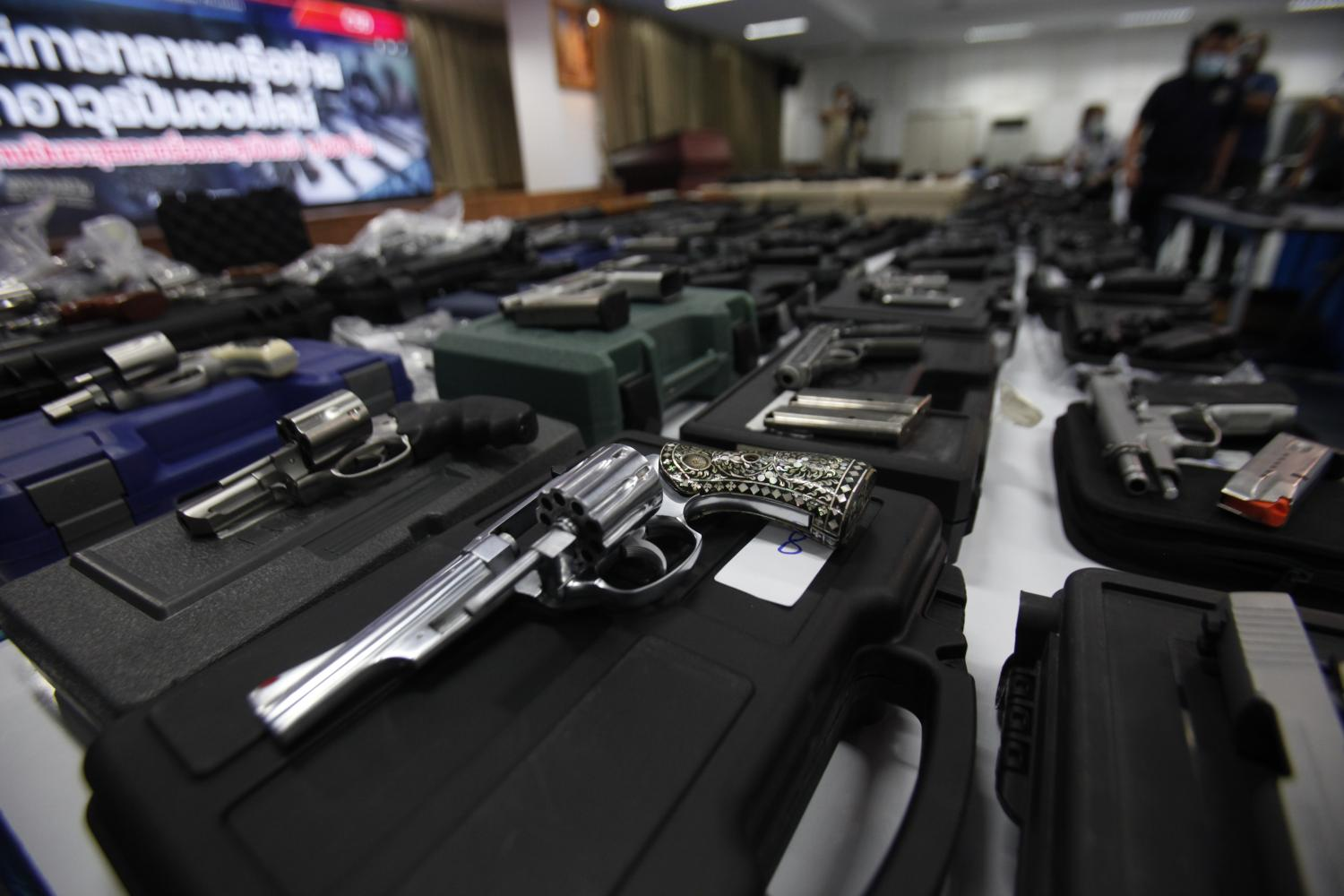 Illegal arms trade in CSD sights