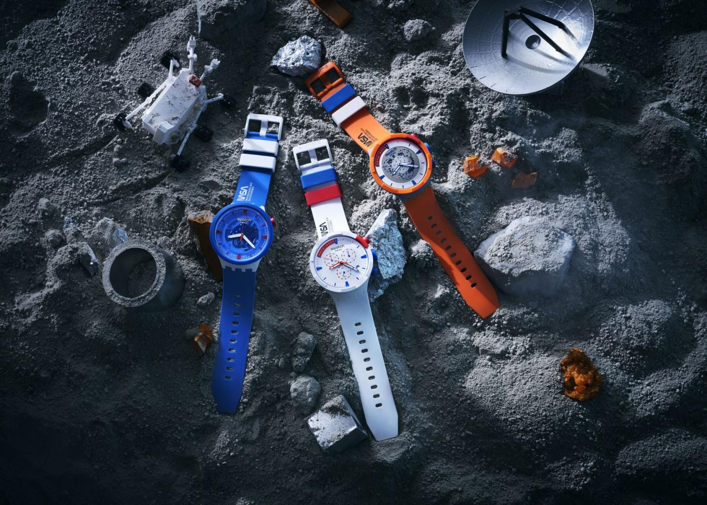 Make Space for Swatch's Nasa collection