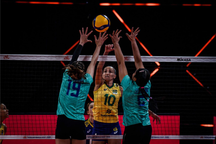 Thailand lose to Brazil but win praise from rivals
