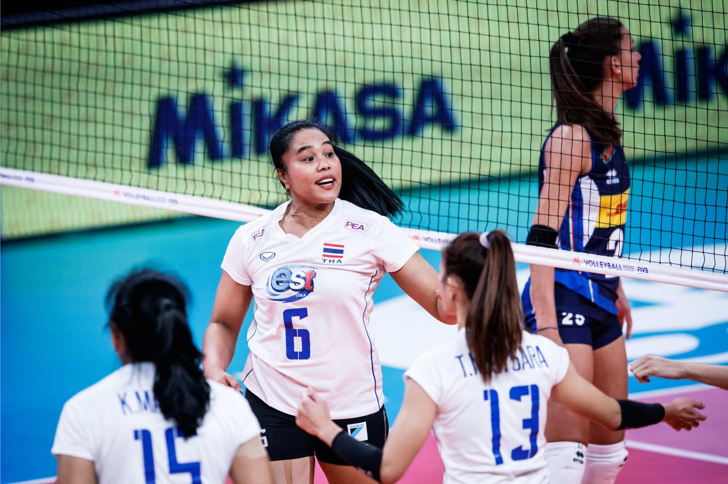 Thais finish bottom in Volleyball Nations League after Italy loss