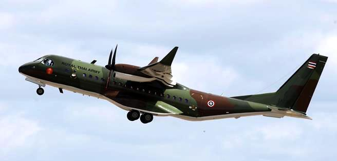 A photo released by Airbus Defence & Space shows a C295 airlifter, one of two the army currently has in its fleet. The force has ordered a third to be delivered in 2023.