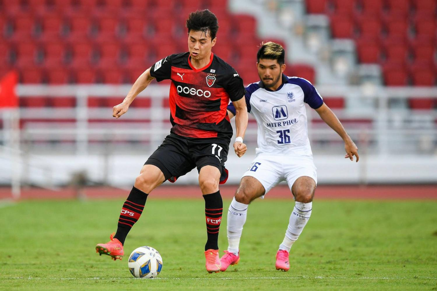 Pohang Steelers fire two past Dragons