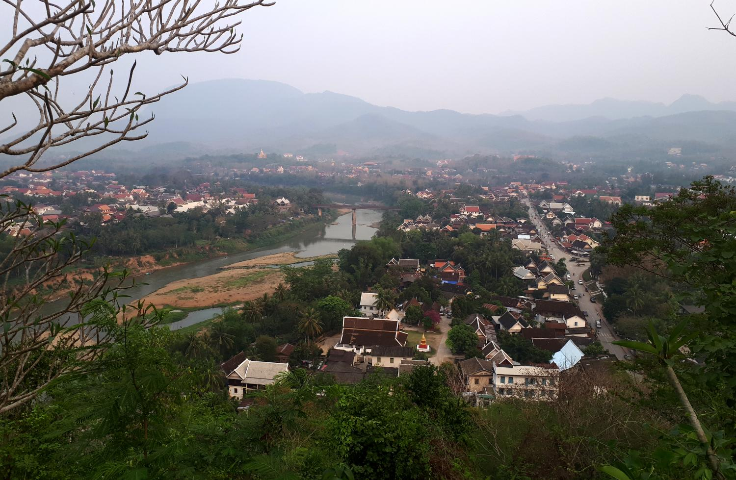 Luang Prabang is facing risks, including of more severe earthquakes, as the Lao government plans to build a large dam just 25km upstream.(Photo: Pongpet Mekloy)