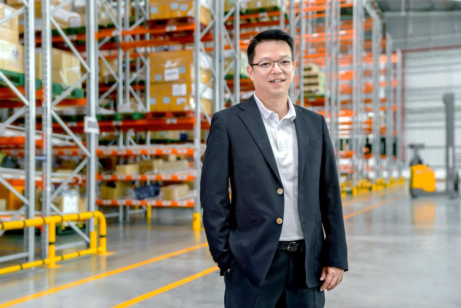 Sopon Racharaksa, CEO, Frasers Property Industrial (Thailand).
